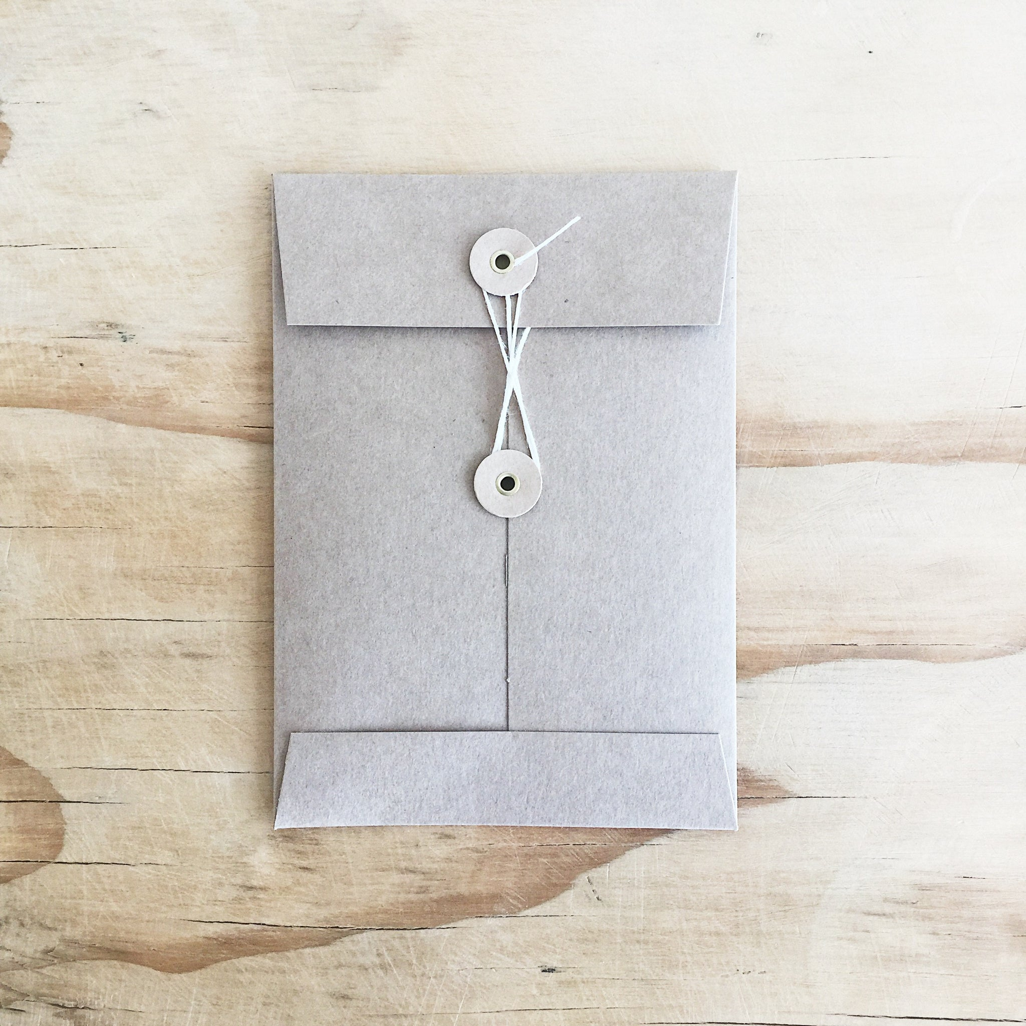 A6 Kraft String Tie Envelope - Bundles - Well Drawn