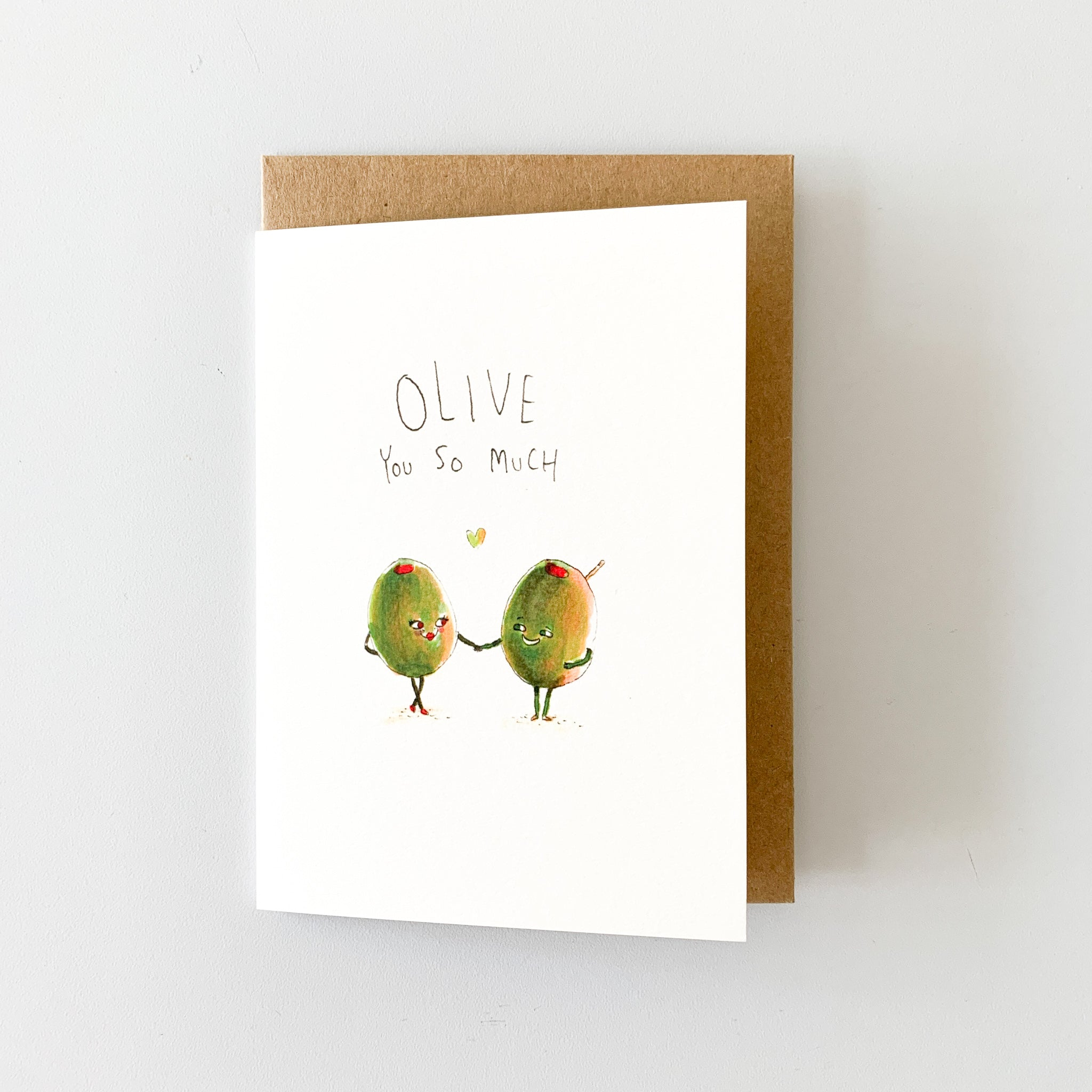 Olive You So Much - Well Drawn