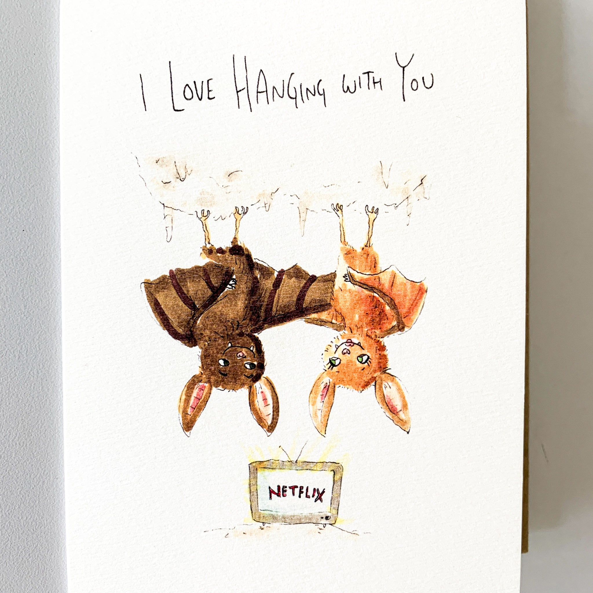 I Love Hanging With You - Well Drawn