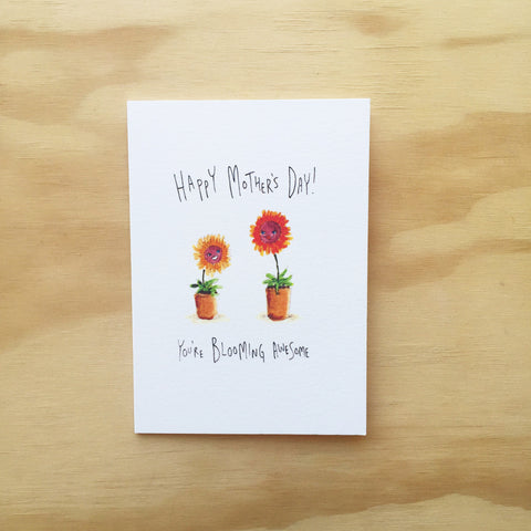 Happy Mother's Day, You're Blooming Awesome - Well Drawn