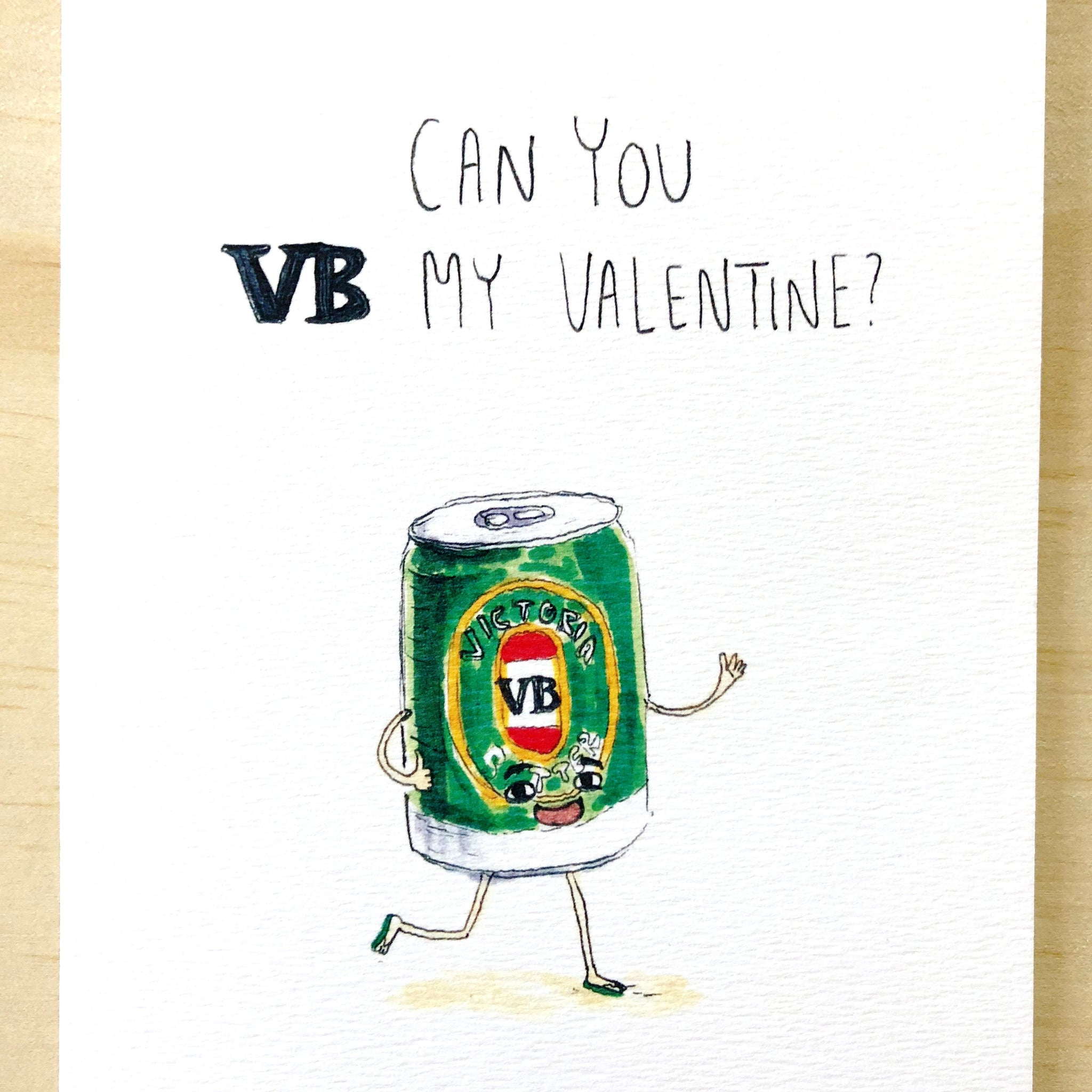 Can You VB My Valentine? - Well Drawn