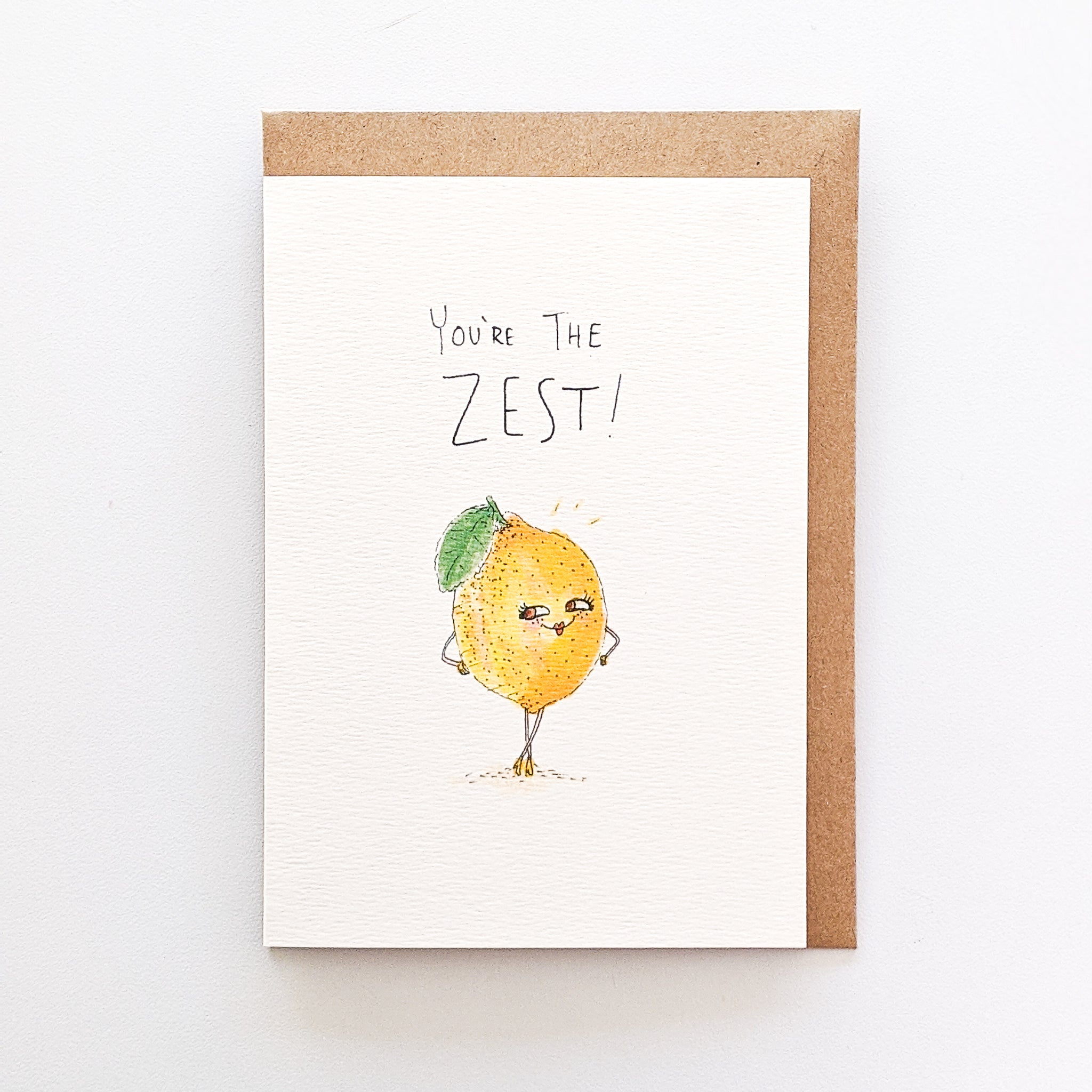 You're The Zest - Well Drawn