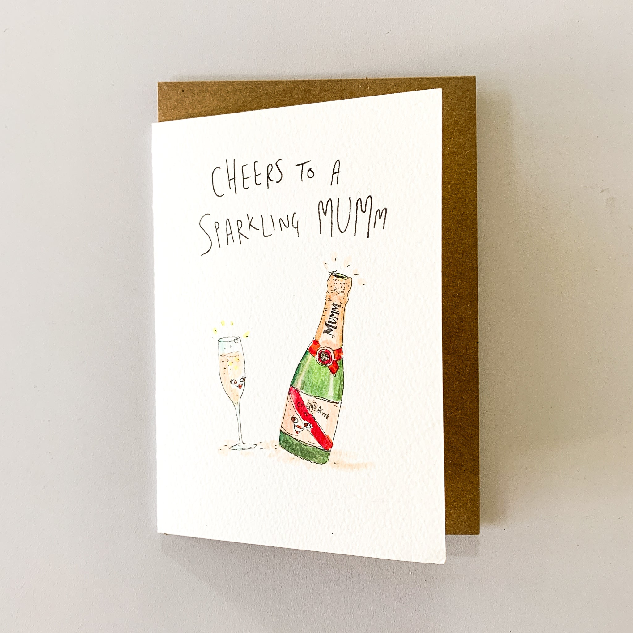 Cheers To A Sparkling Mumm - Well Drawn