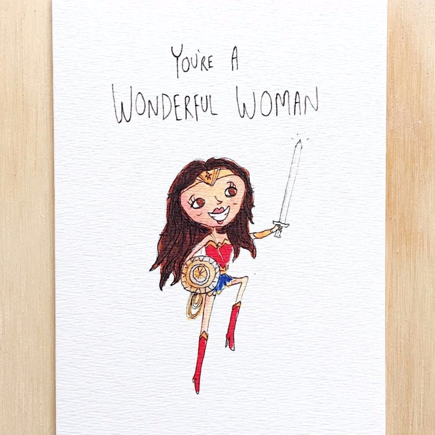 You're A Wonderful Woman - Well Drawn