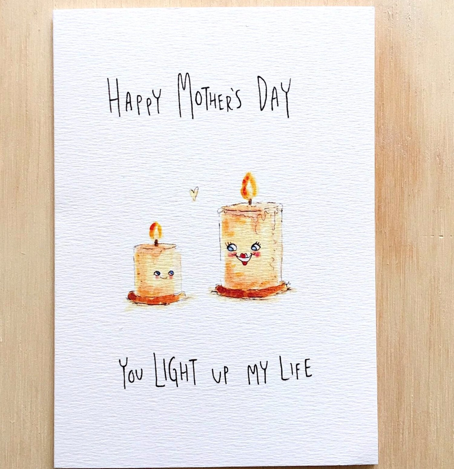 Happy Mother's Day, You Light Up My Life - Well Drawn