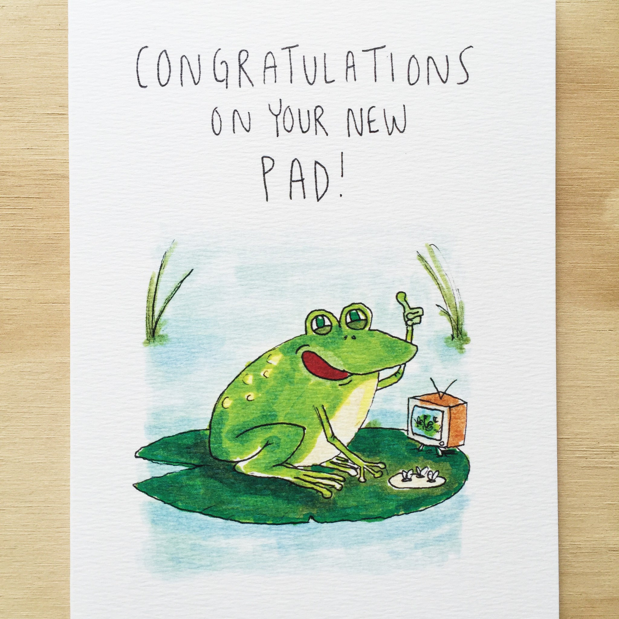 Congratulations On Your New Pad - Well Drawn