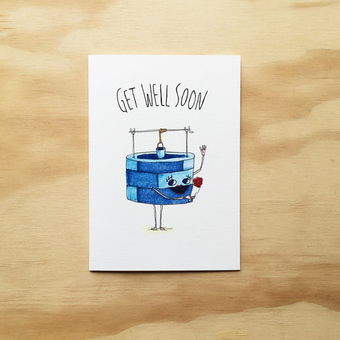 Get Well Soon - Well Drawn