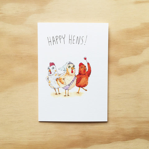 Happy Hens - Well Drawn