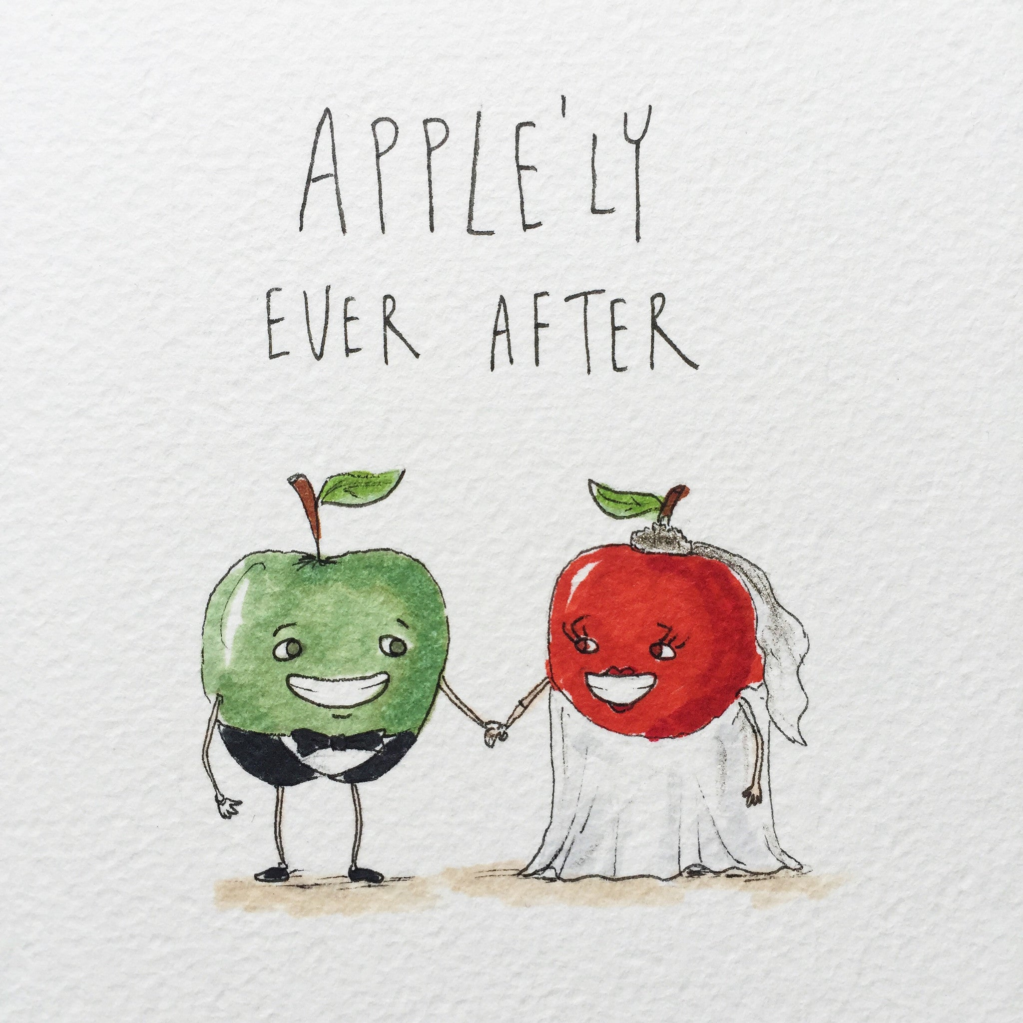 Apple'ly Ever After - Well Drawn