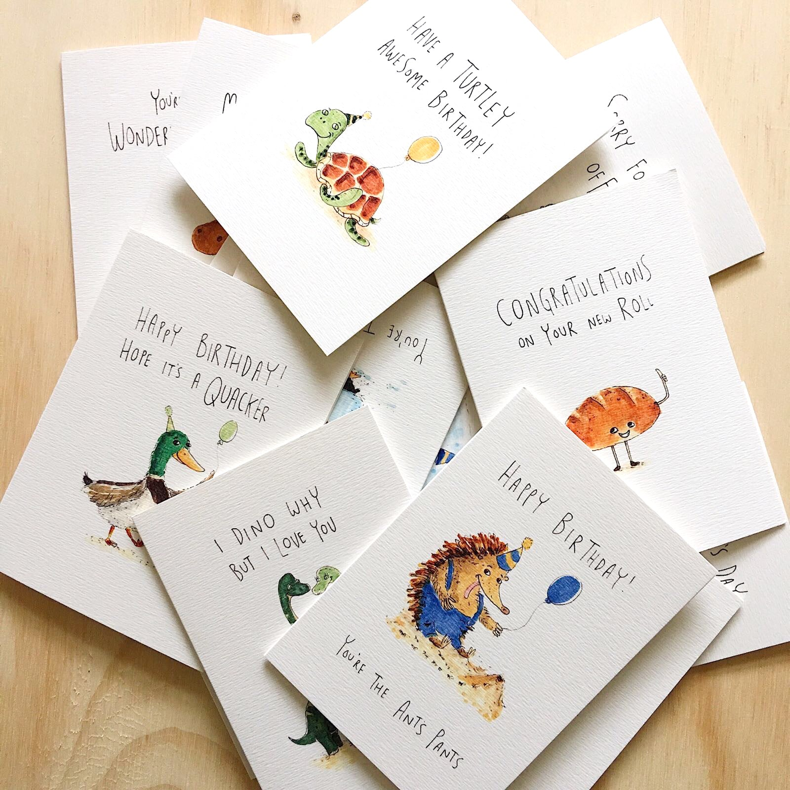 Bulk Bundle - 10 pack of any card - Well Drawn