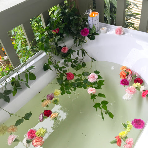 Bath Time in the Hills - Flower Bath – Copper and Cross