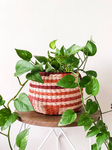 Rust Planter Basket