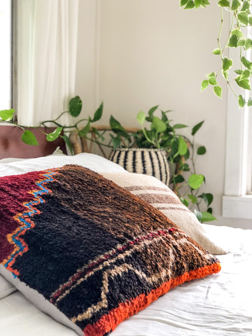 Berber Rug Cushion Rivers Edge