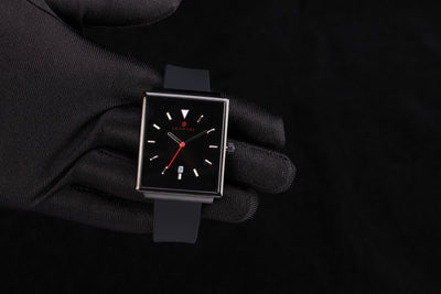 NEW! ROYAL 38 MM - Black (silicon strap) - 7