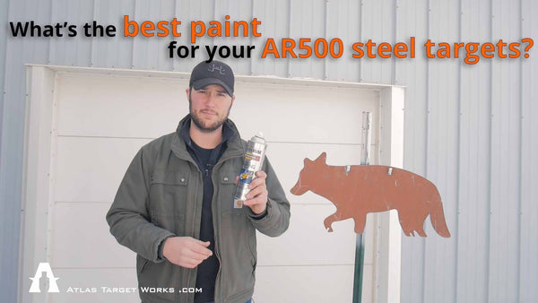 What is the best paint for AR500 steel targets?