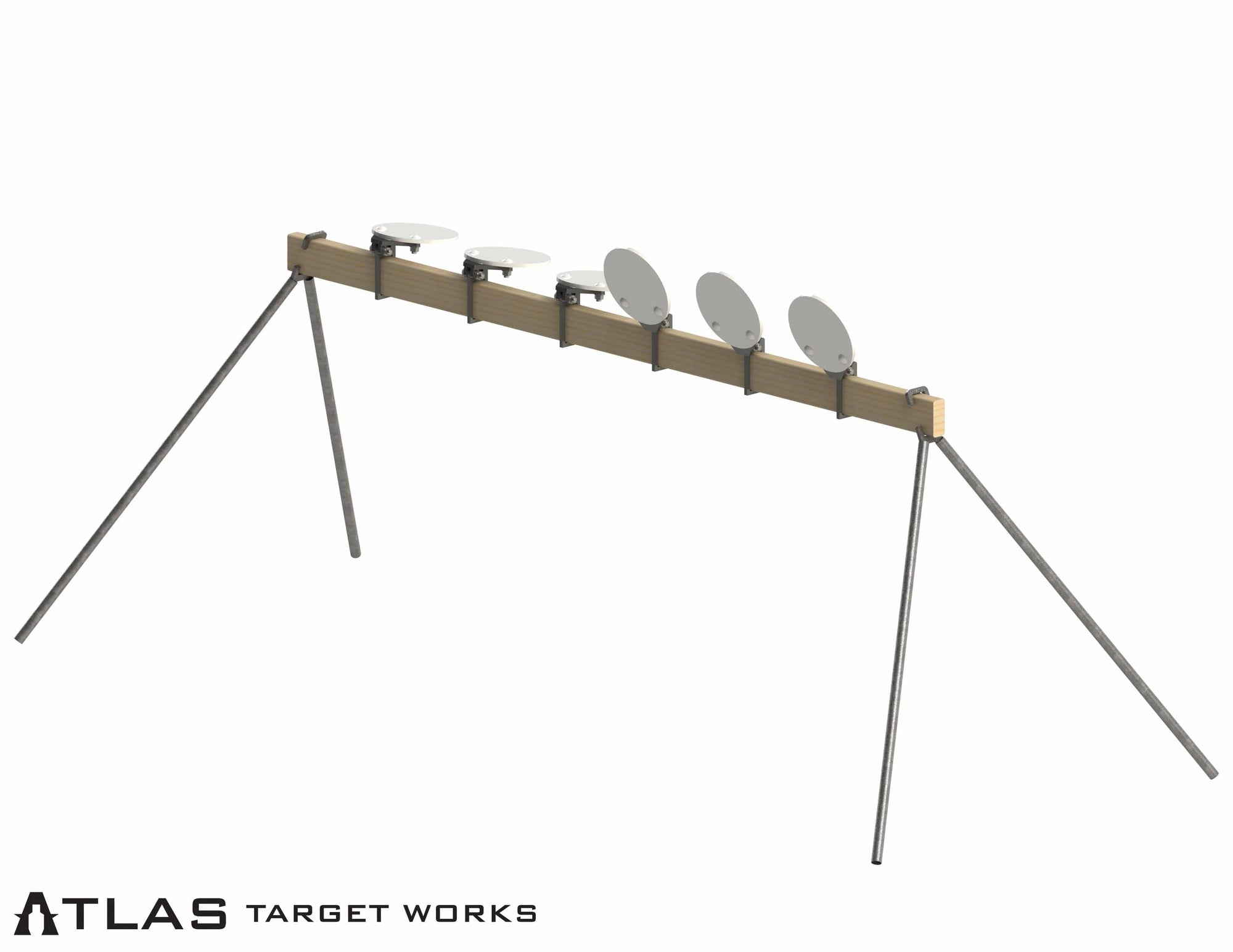 AR500 Plate Rack (Non-Remote Reset)