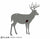 Rimfire Half Scale Whitetail Buck w/ Reactive Heart