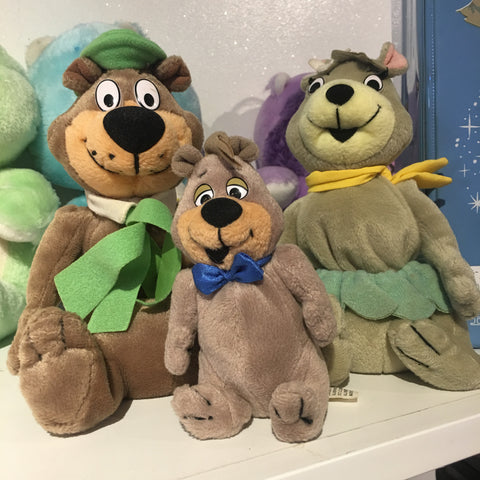 Yogi Bear Bean Bag Plush Set