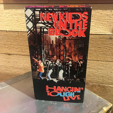 "New Kids on the Block ""Hangin' Tough Live"" VHS"