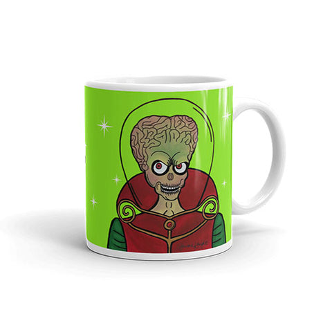 "Mars Attacks ""Ack!"" Mug"
