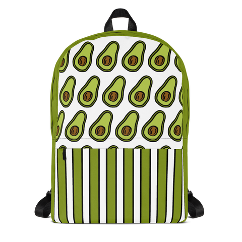 Avocado All-Over Print Backpack