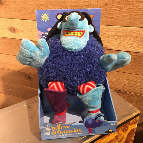 "The Beatles Yellow Submarine ""Blue Meanie"" Plush"