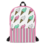 Ice Cream All-Over Print Backpack
