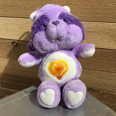 "Vintage ""Bright Heart Raccoon"" Cousin Care Bear"