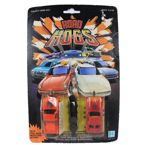 Road Hogs Pull-Back Car Toys