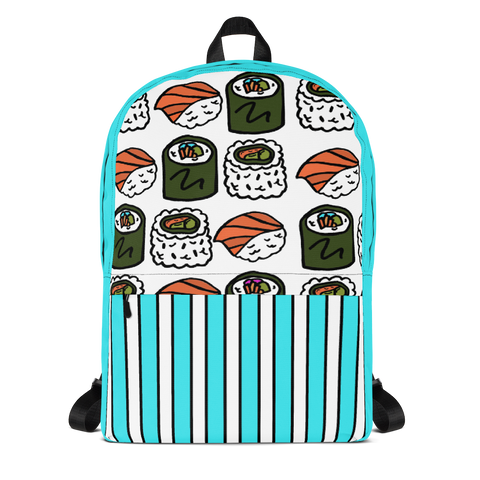 Sushi All-Over Print Backpack
