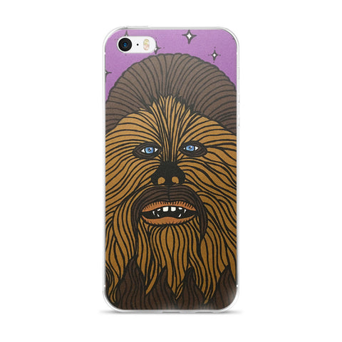 Chewbacca Star Wars iPhone 5/5s/Se, 6/6s, 6/6s Plus Case