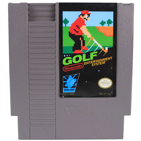 "NES ""Golf"" Video Game Cartridge"