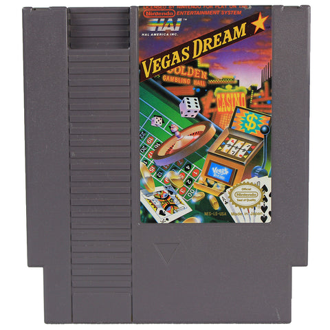 "NES ""Vegas Dream"" Video Game Cartridge"