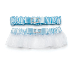 Rhinestone Garter (Something Blue)