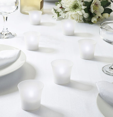 LED Tealight Votives (Set of 6)