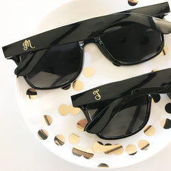 Monogram Black Sunglasses