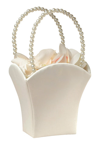 Satin Flower Basket Square
