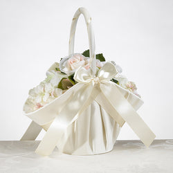 Large Satin Basket