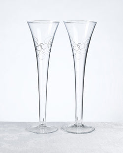 Double Heart Flutes