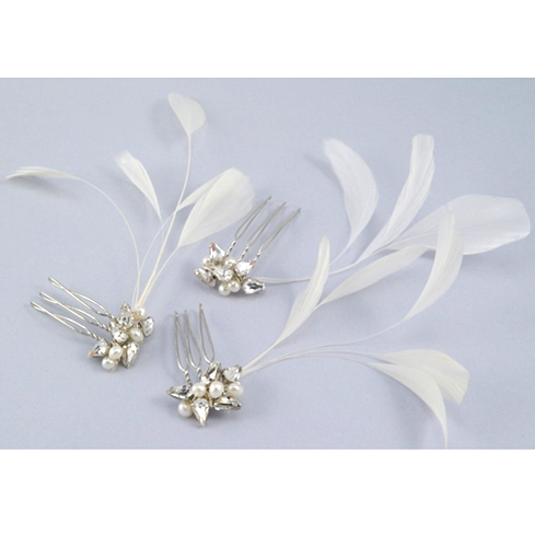 Sara Gabriel: Natasha Bridal Hair Combs