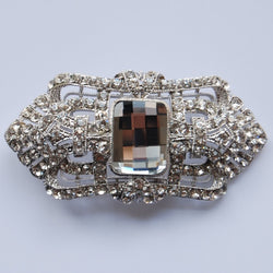 Tiffany Jeweled Bridal Brooch