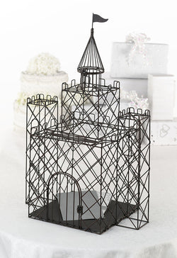 Metal Castle Card Box