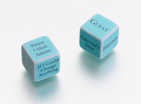 Bridal Shower Game Dice