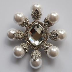 Sabrina Jeweled Wedding Brooches