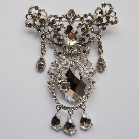Sophia Jeweled Wedding Brooch