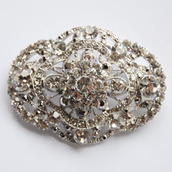 Victoria Jeweled Wedding Brooch