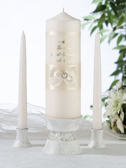 Ivory Pearl Candle Set