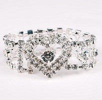 Devotion Crystal Bouquet Bracelet