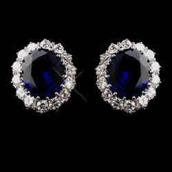 "Earrings - ""Something Blue"" (Kate Middleton Inspired)"