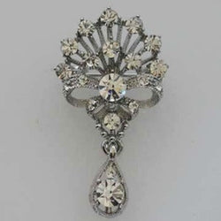Elizabeth Jeweled Wedding Brooch